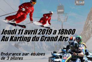 1er Challenge Karting des ESF de Savoie